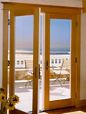 What a California view!  Wood Clad Doors from BH Kruper.