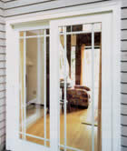 Milgard Vinyl French Door From Deluxe Windows, Inc.